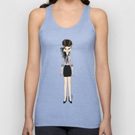 Amy Cat Unisex Tank Top