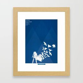 Flocked - KU vs TTU 10/7/17 Framed Art Print