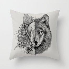 New Wolf (Half Life) Throw Pillow