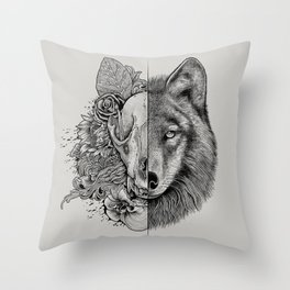 New Wolf (Half Life) Throw Pillow
