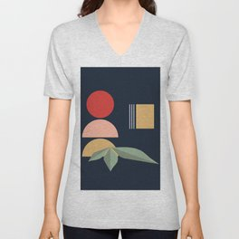 Contemporary Organic 0096 Unisex V-Neck