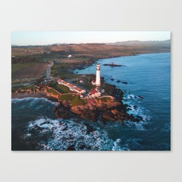 Pigeon Point Lighthouse, California Canvas Print