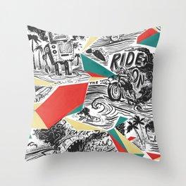 Mechtopia Throw Pillow