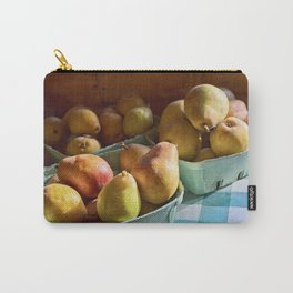Pear Golden Carry-All Pouch