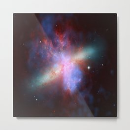 Galaxy Messier Metal Print