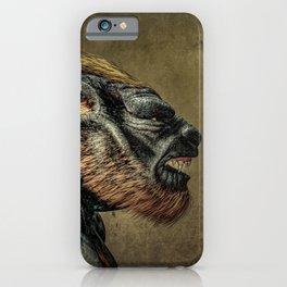 Portrait of a Werewolf iPhone Case