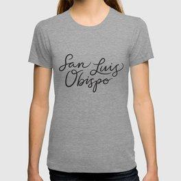 San Luis Obispo Lettering T-shirt