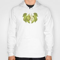 pear Hoodies featuring Pear by Marlene Pixley