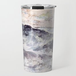 Arrangement In Blue And Silver The Great Sea By James Mcneill Whistler   Reproduction Travel Mug