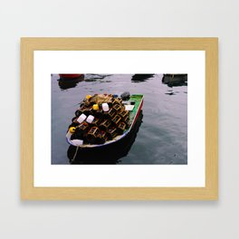 let's go boating Framed Art Print