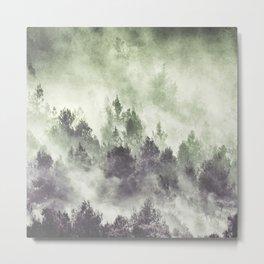 Sky joins the Earth Metal Print