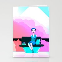 shopping Stationery Cards featuring Shopping by IOSQ