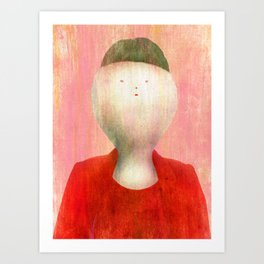 I know that my hair cut is funny Art Print