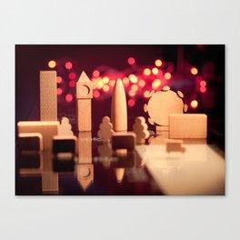 London in a box Canvas Print