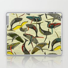 whales and waves bold Laptop & iPad Skin