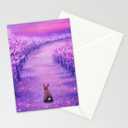 Looking Back On The Journey Stationery Cards