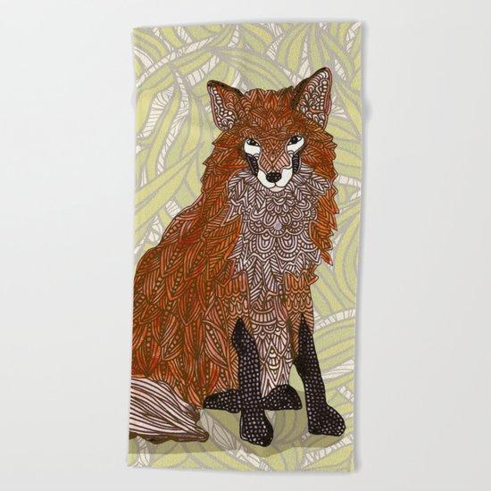 Foxy Lady Beach Towel