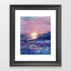 Wish You Were Here  01 Framed Art Print