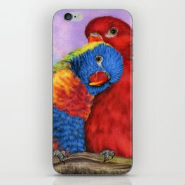 The Color Of Love iPhone Skin