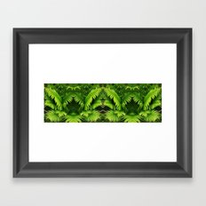 Fern world Framed Art Print