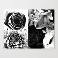 Delicate flower abstract Canvas Print