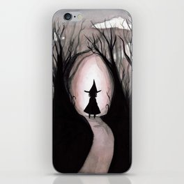 Witchy Walk iPhone Skin