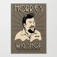 goodfellas Canvas Prints featuring Goodfellas, Morrie's Wigs Shop Sign  by Creative Spectator