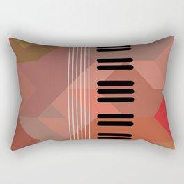 pos string and key Rectangular Pillow