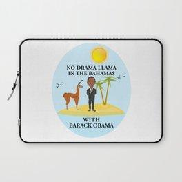 No Drama Llama With Barack Obama Laptop Sleeve