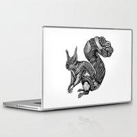 squirrel Laptop & iPad Skins featuring Squirrel by Rebexi