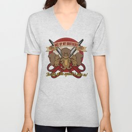 Day of the Squirrel - Sears Squirrel Commercial Parody - Coupon Cutting Squirrels Revolt Unisex V-Neck