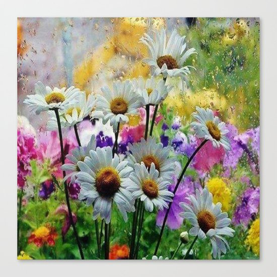 flower design  Canvas Print