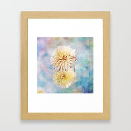 Dreamy Dried Flower Framed Art Print