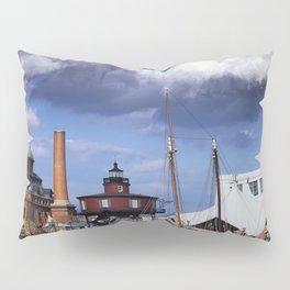 Seven Foot Knoll Lighthouse in Baltimore Harbor Pillow Sham