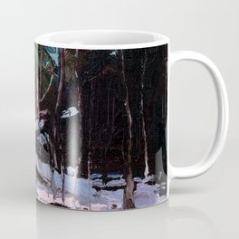Tom Thomson - Early Snow, Algonquin Park - Canada, Canadian Oil Painting - Group of Seven Coffee Mug