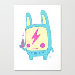 Baby Lemi the Space Wanderer Canvas Print