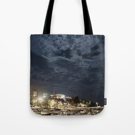 And the Moon to Rule the Sea Tote Bag