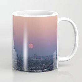 Los Angeles Supermoon Coffee Mug