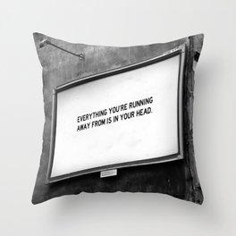 BILLBOARD FANTASIES #2 Throw Pillow