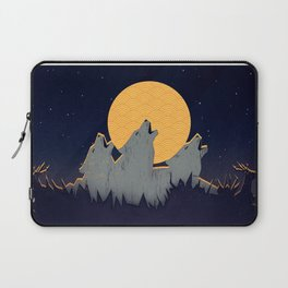 Midnight Sound Laptop Sleeve