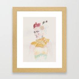 Burlesque Victoriana Framed Art Print