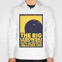 the big lebowski Hoodies featuring The Big Lebowski by Chá de Polpa