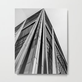 Skyscraper Kio Tower Madrid Metal Print