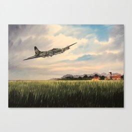 B-17 Flying Fortress Aircraft Canvas Print
