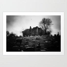 Abandoned Silence Art Print