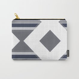 Bold Geometrical Modern Design Carry-All Pouch
