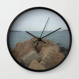 the Rocks at Oyster Bay Wall Clock