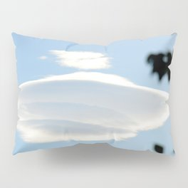 Lenticular cloud over Queen Charlotte Town Pillow Sham