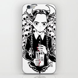 Devil Merlina iPhone Skin