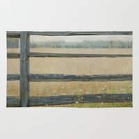 country Area & Throw Rugs featuring Country by Pure Nature Photos
